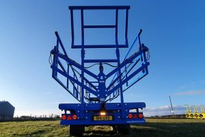 Bale Safe Trailer from rear