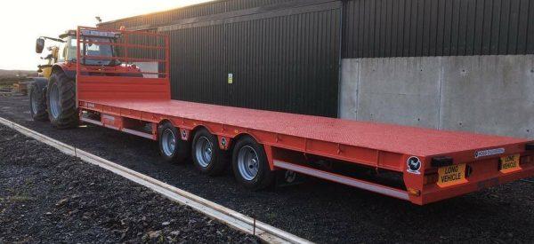 Hogg bale trailer - SIB Services